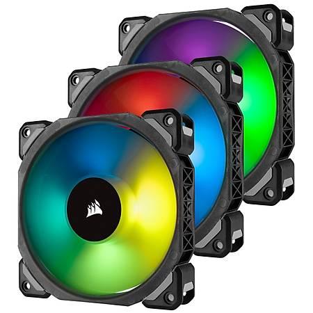 Corsair ML120 Pro RGB 120mm PWM Fan Lighting Node Pro 3 lü Paket