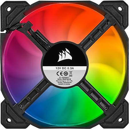 Corsair iCUE SP120 RGB Pro 120mm Fan Lighting Node Core Kontrolcü 3 lü Paket