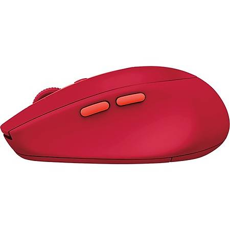 Logitech M590 Silent Red Kablosuz Bluetooth Mouse 910-005199