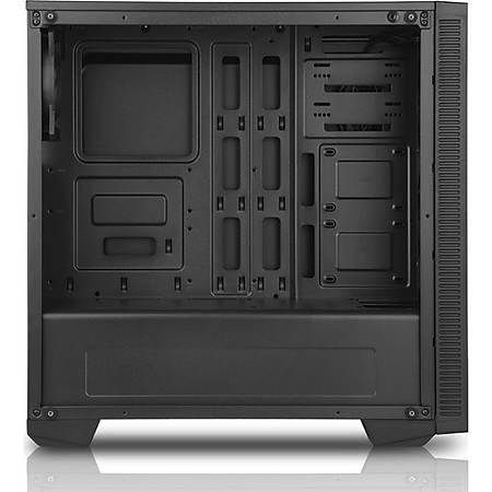 Power Boost VK-G1007 RGB USB 3.0 Tempered Pencereli Mid Tower Gaming Kasa PSU Yok