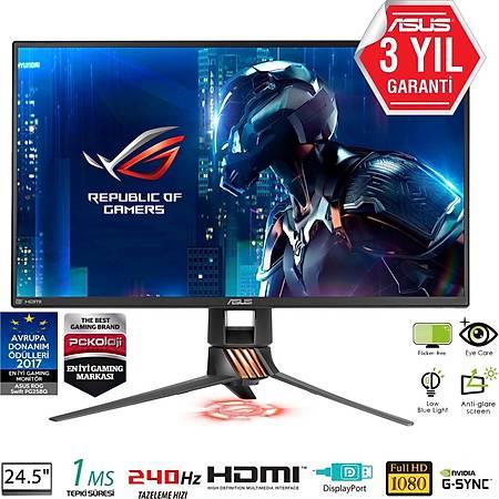 ASUS 24.5 PG258Q 1920x1080 HDMI DP 1ms G-Sync Siyah