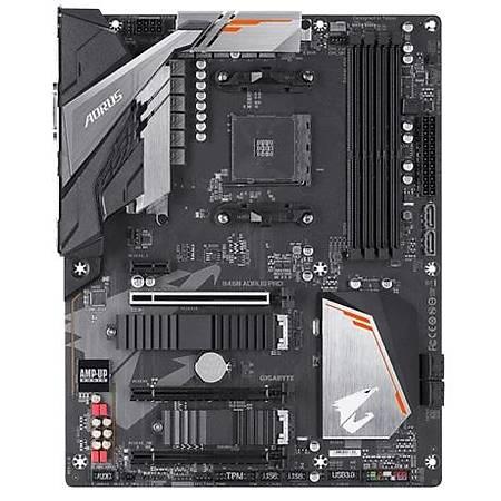 GIGABYTE B450 AORUS PRO 3600MHz (OC) DDR4 DVI HDMI M.2 ATX AM4