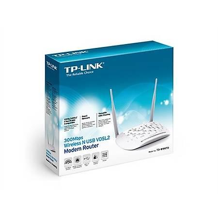 TP-Link TD-W9970 300Mbps Wi-Fi VDSL2 ADSL Modem