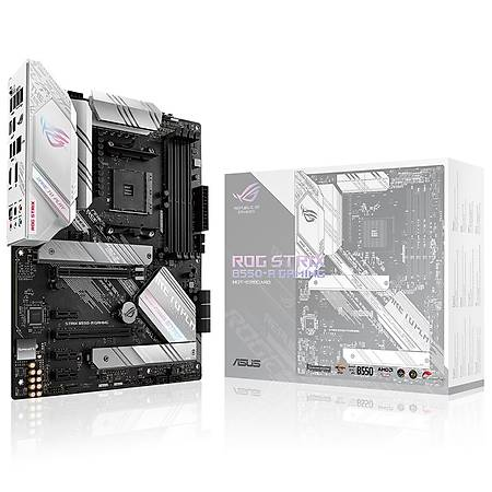 ASUS ROG STRIX B550-A GAMING DDR4 4600MHz (OC) DP HDMI 2xM.2 USB3.2 AURA RGB ATX AM4