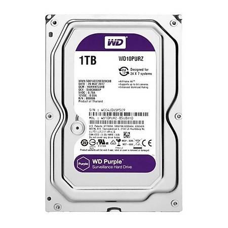 WD Purple 3.5 1TB 7200Rpm 64Mb Sata 3 6Gb/s 7/24 WD10PURZ