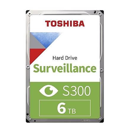 Toshiba S300 3.5 6TB 7200Rpm 256Mb Sata 3 Güvenlik Diski HDWT360UZSVA