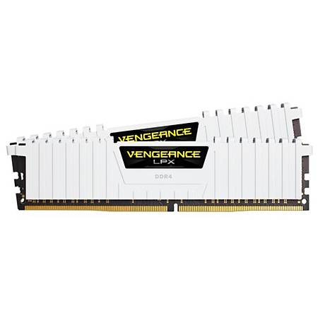 Corsair 16GB (2x8GB) Vengeance DDR4 3200MHz CL16 Beyaz Dual Kit Ram