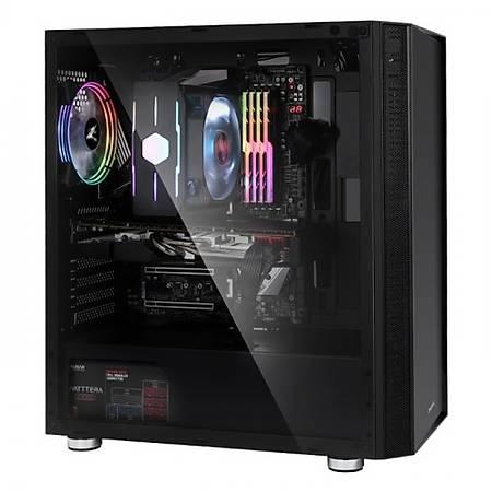Zalman R2 E-ATX MidTower RGB Kasa Siyah PSU Yok