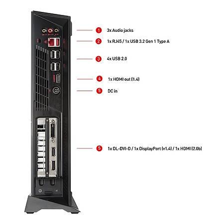 MSI MPG TRIDENT 3 10SI-017EU i5-10400 8GB 1TB HDD 512GB SSD 6GB GTX1660 SUPER Windows 10