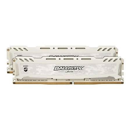 Crucial Ballistix Sport LT 32GB (2x16GB) DDR4 3200MHz CL18 Beyaz Ram