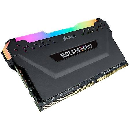 Corsair Vengeance Rgb Pro 128GB (4x32GB) DDR4 3600MHz CL18 Siyah Ram