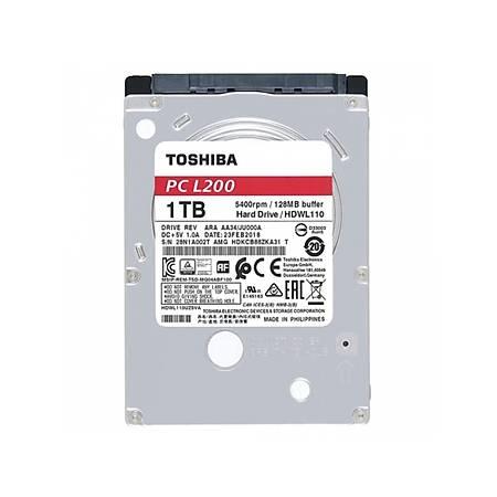 Toshiba L200 2.5 1TB 5400Rpm 128Mb Sata 6.0 Gbit/s HDWL110UZSVA