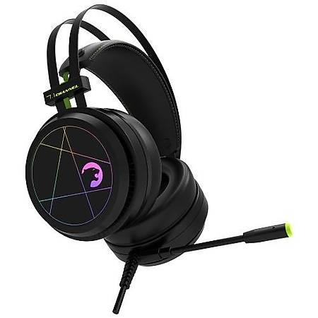 GamePower Medusa Rainbow 7.1 Surround Siyah Gaming Kulaklýk