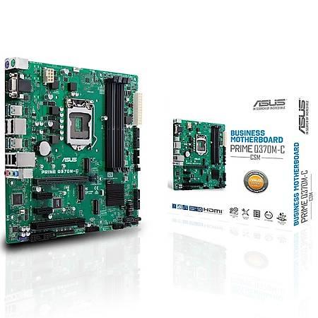 ASUS PRIME Q370M-C DDR4 2666MHz M.2 USB 3.1 u-ATX 1151p