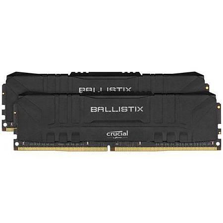 Crucial Ballistix 32GB (2x16GB) DDR4 3200MHz CL16 Siyah Ram