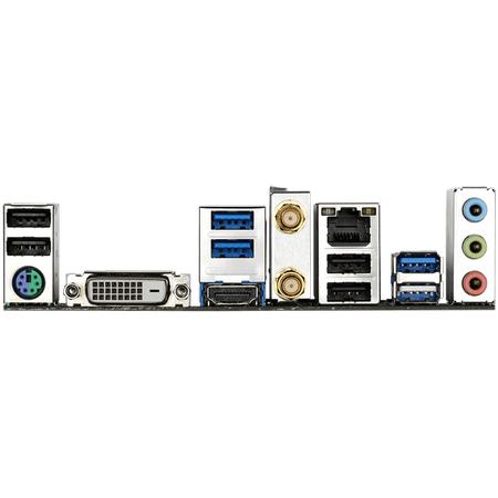 GIGABYTE B550M DS3H AC Wi-Fi DDR4 4400MHz (OC) HDMI DVI-D M.2 USB 3.2 mATX AM4