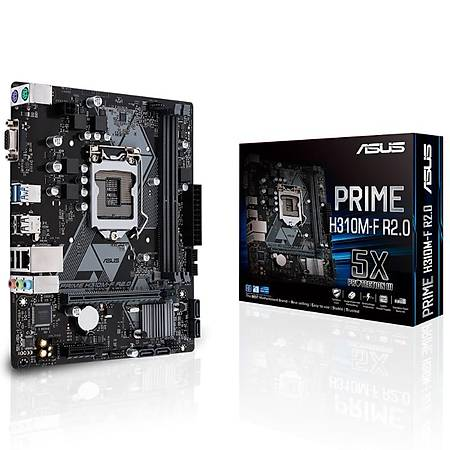 ASUS PRIME H310M-F R2.0 DDR4 2666MHz VGA mATX 1151p