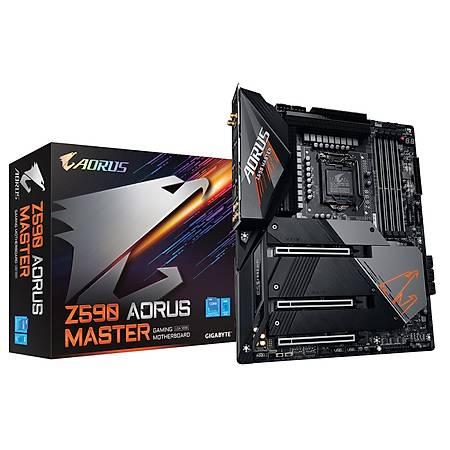 GIGABYTE Z590 AORUS MASTER DDR4 5400MHz (OC) DP M.2 USB3.2 Wi-Fi RGB ATX 1200p