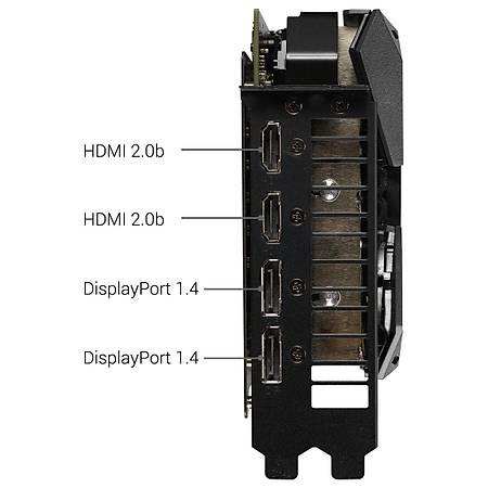 ASUS ROG Strix GeForce GTX 1660 Ti 6GB OC 192Bit GDDR6