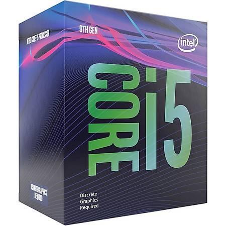 Intel Core i5 9400F Soket 1151 2.9GHz 9MB Cache Ýþlemci