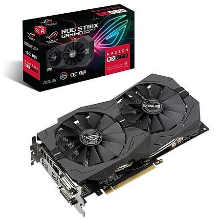 ASUS ROG Strix Radeon RX 570 OC 8GB 256Bit GDDR5