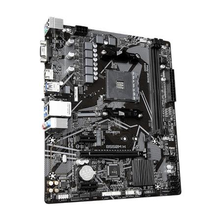 Gigabyte B550M H DDR4 4266MHz VGA HDMI M.2 USB3.2 Micro-ATX AM4
