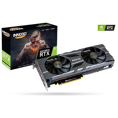 Inno3D GeForce RTX 2070 SUPER Twin x2 8GB OC 256Bit GDDR6