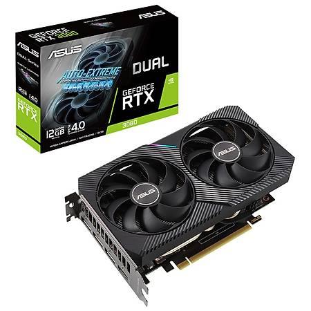 Asus Dual GeForce RTX 3060 12GB 192Bit GDDR6