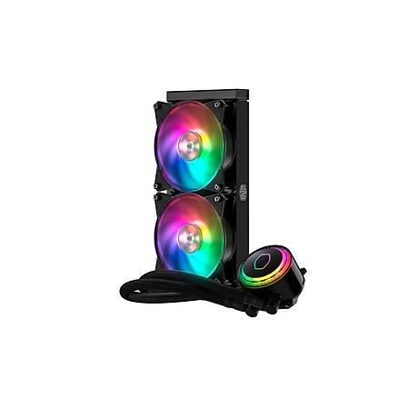 Cooler Master MasterLiquid ML240R RGB Led Fanlý AM4 Destekli Sývý Soðutma