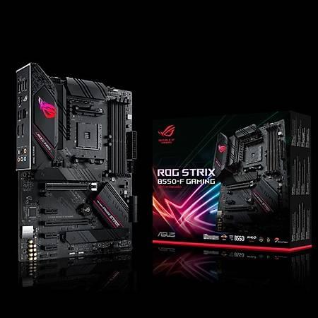 ASUS ROG STRIX B550-F GAMING DDR4 4400MHz (OC) HDMI DP TYPE-C M.2 USB3.2 AURA RGB ATX AM4