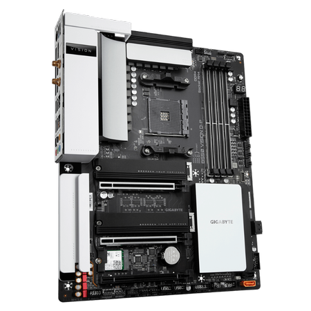 GIGABYTE B550 VISION D P Wi-Fi DDR4 5100MHz (OC) HDMI DP TYPE-C M.2 USB 3.2 ATX AM4
