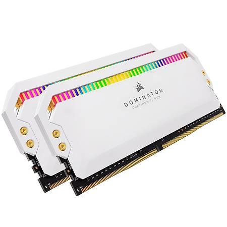 Corsair Dominator Platinum Rgb 32GB (2x16GB) DDR4 3200MHz CL16 Beyaz Dual Kit Ram