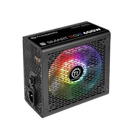 Thermaltake Smart RGB 600W 80+ RGB Led Power Supply