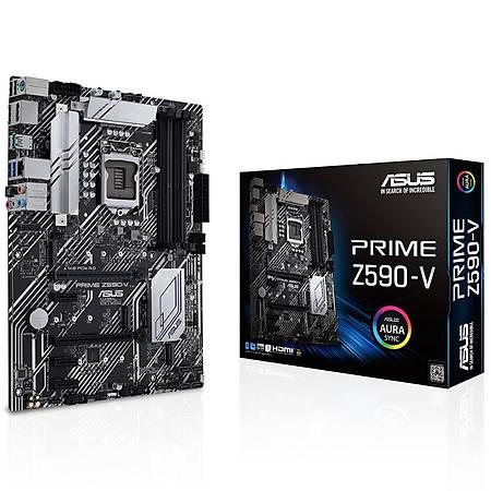 ASUS PRIME Z590-V-SI DDR4 5000MHz HDMI DP M.2 USB3.2 ATX 1200p