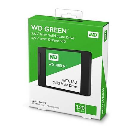 WD Green Serisi 120GB Sata 3 SSD Disk WDS120G2G0A