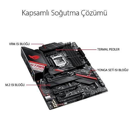 ASUS ROG STRIX Z490-H GAMING DDR4 4600MHz (OC) HDMI DP TYPE-C M.2 RGB USB 3.2 ATX 1200p