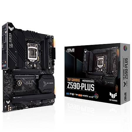 ASUS TUF GAMING Z590-PLUS DDR4 5000MHz HDMI DP M.2 USB3.2 ATX 1200p