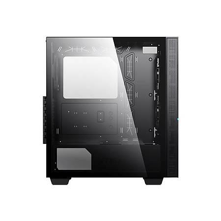 MSI MPG SEKIRA 100R 4xA-RGB 120mm Fan Temperli Cam E-ATX Gaming Bilgisayar Kasasý PSU Yok