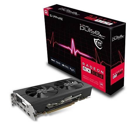 SAPPHIRE Radeon RX 580 8GD5 PULSE OC 8GB 256Bit GDDR5
