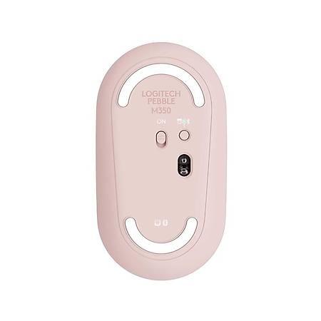 Logitech Pebble M350 Graphite Rose Kablosuz Mouse 910-005717