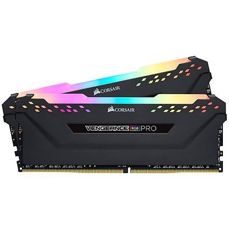 Corsair Vengeance Rgb Pro 16GB (2x8GB) DDR4 4000MHz C18 Siyah Dual Kit Ram