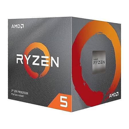 AMD Ryzen 5 3600X Soket AM4 3.8GHz 36MB Cache Ýþlemci