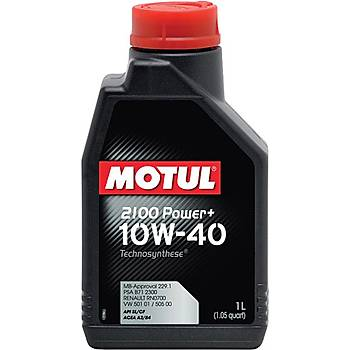 MOTUL 2100 POWER 10W40 1LÝTRE
