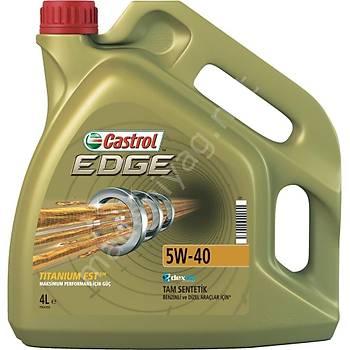 CASTROL 5W40 EDGE 4LT