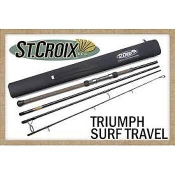 """ST CROİX TRİUMPH SURF TRAVEL ROD """" 20-85 gr atarlı, 17-40lb braid, tek parça, tetikli, 245cm"""""""