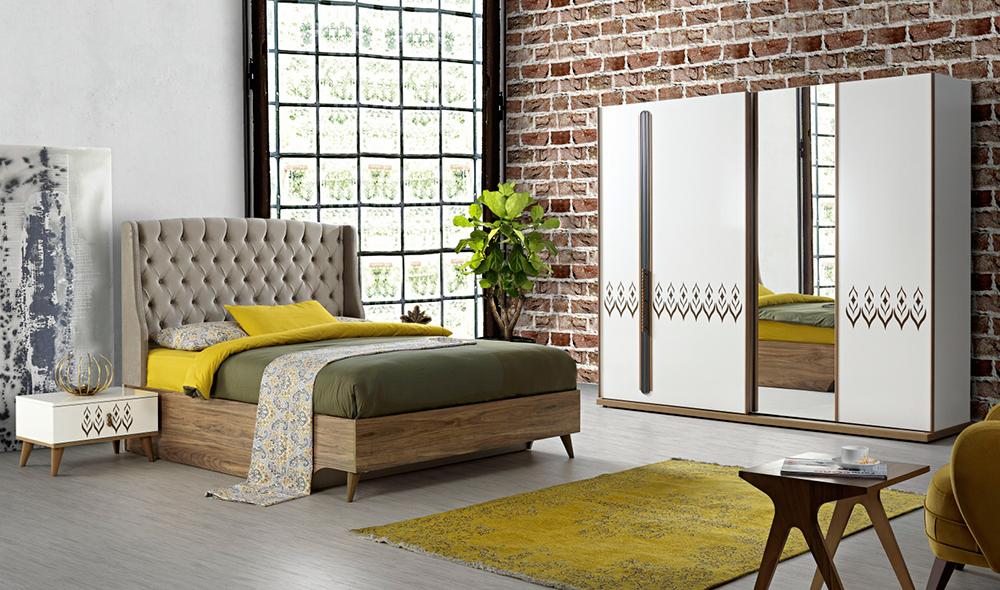 Renkli Ve Modern Bir Yatak Odasý Ýçin Ýpuçlarý