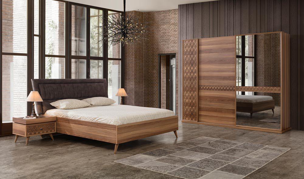 Anka Yatak Odasi Ceviz Yatak Odalari Yatak Odasi Modelleri