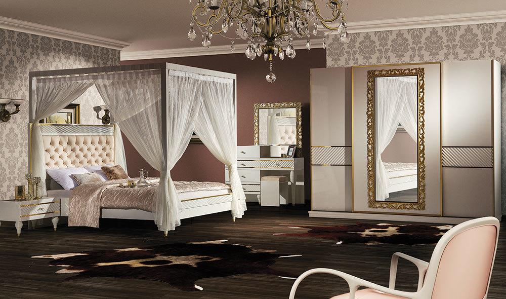 Lizbon Gold Yatak Odasi Yatak Odalari Yatak Odasi Modelleri