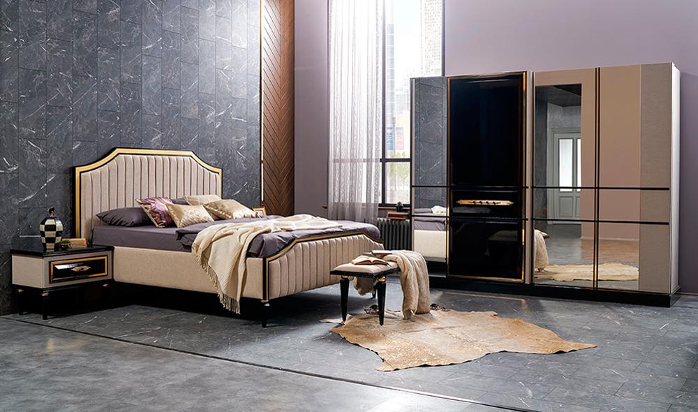 Versace Yatak Odasi Yildiz Mobilya