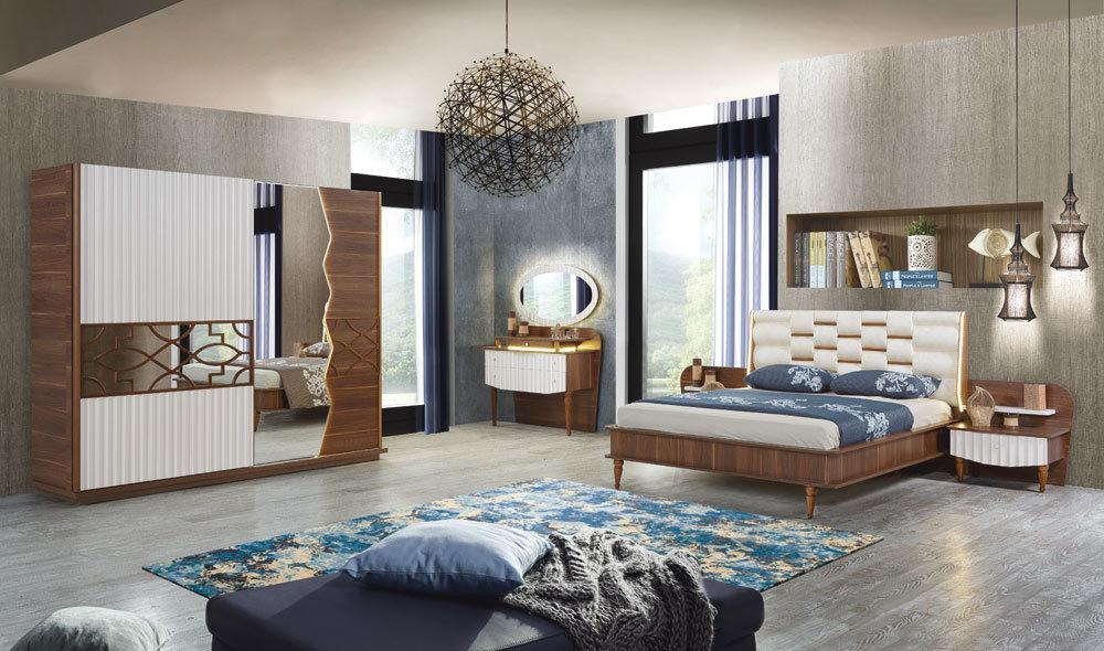 Koza Yatak Odasi Krem Yatak Odalari Yatak Odasi Modelleri